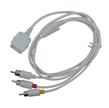 Afbeeldingen van A/V kabel Apple iPhone/iPod
